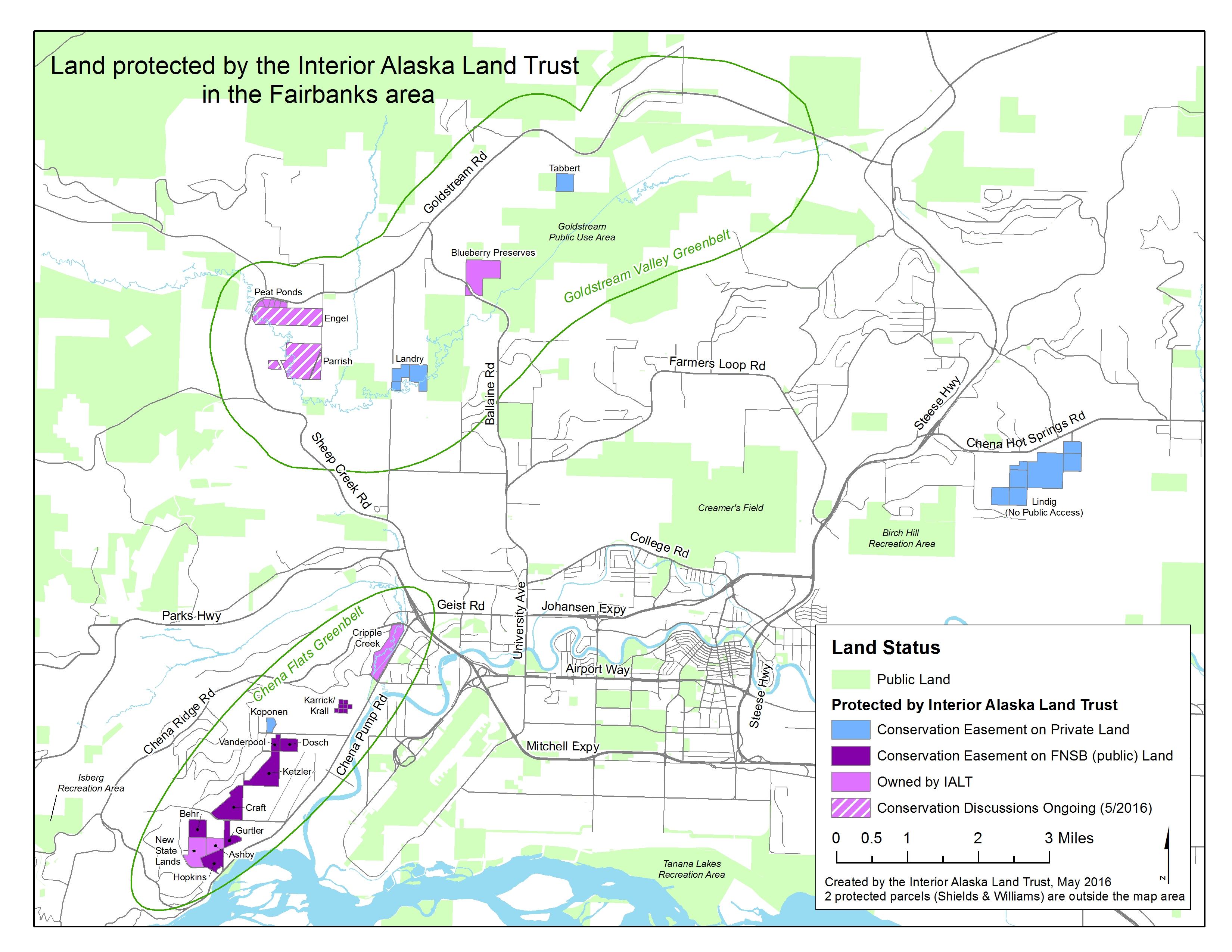 About Us Interior Alaska Land Trust